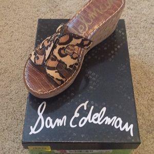 Sam Edelman leopard print 7 1/2